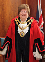 Cllr Sheila Magnall, Mayor of Bury