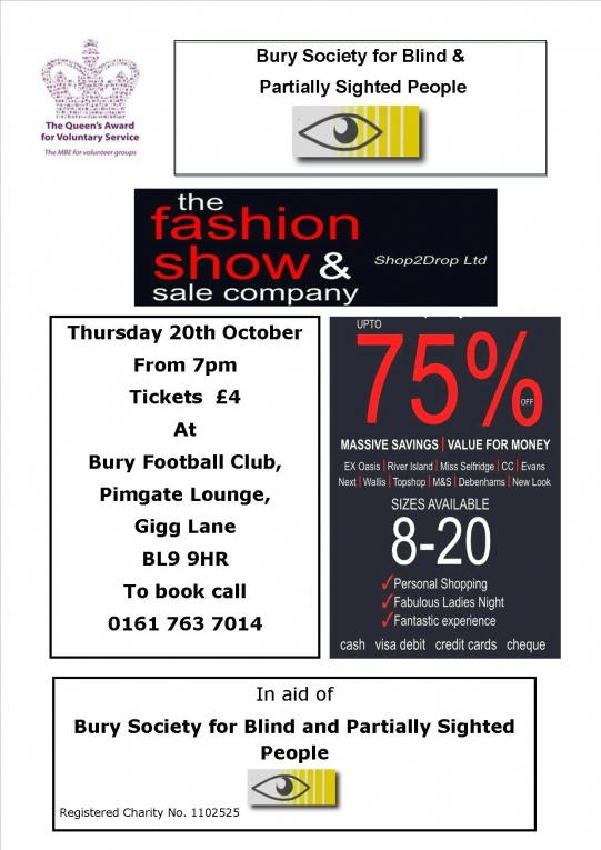 5257278d831f On Thursday 20th October we are having our very popular Fashion Show Sale