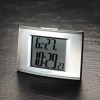 Talking clock from cobolt with large LCD display